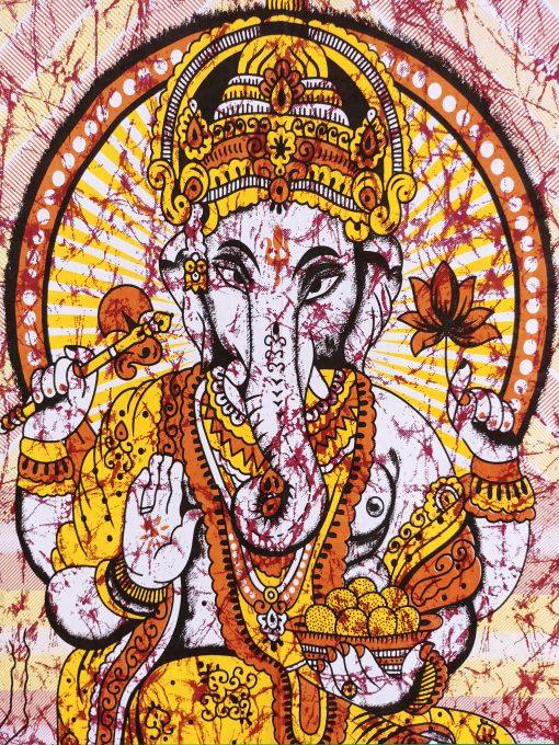 Tenture Ganesh design et moderne hindou et bohème