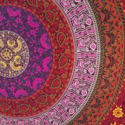 Tenture Mandala Murale Zen multicolore pas cher