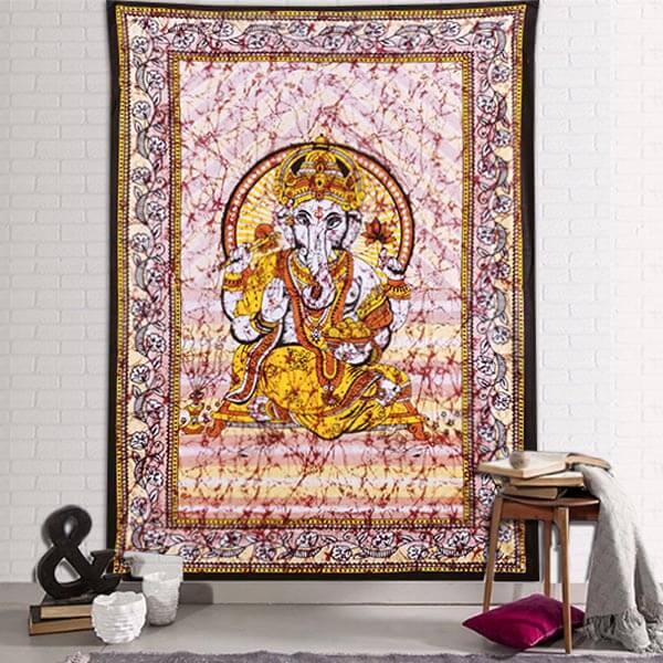 Tenturmurale Ganesh dieu hindou