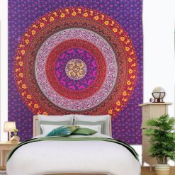 Tenture mandala mural zen