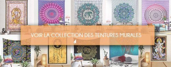 tenture murale collection