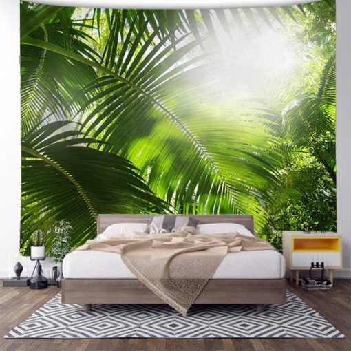 tenture nature foret tropicale