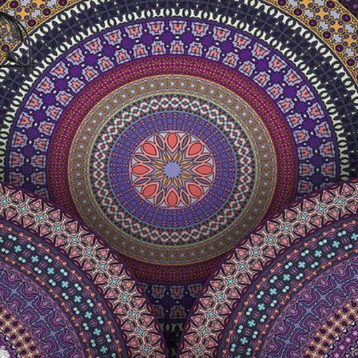 Tenture Mandala Fractal Zen