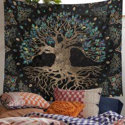 tenture murale arbre de vie origine