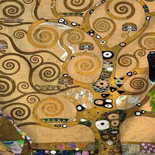 Tenture Arbre de Vie Gustav Klimt
