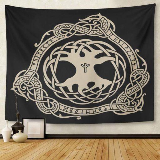 tenture arbre de vie celtique
