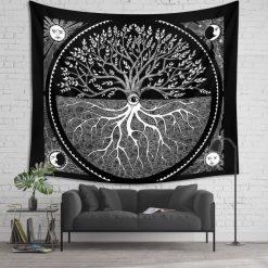 tenture murale arbre de vie des druides