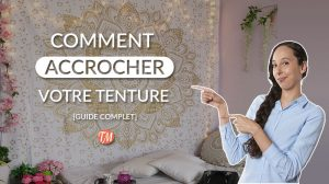 comment fixer ou installer tenture murale