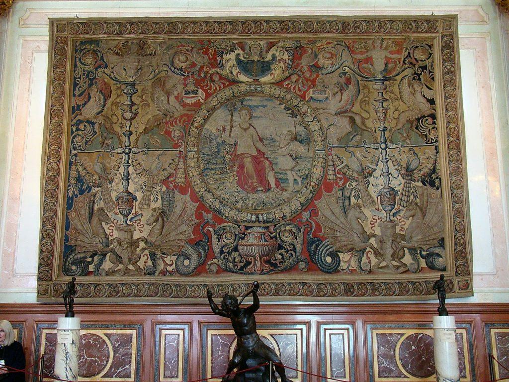 tapisseire murale ancienne vintage