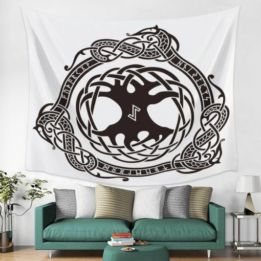 tenture arbre de vie druide celte