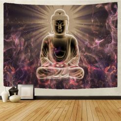 tenture bouddha eveil nirvana