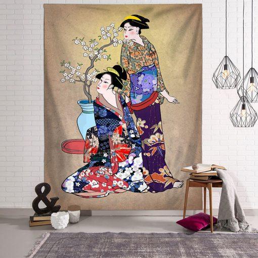 tenture japonaise ancienne
