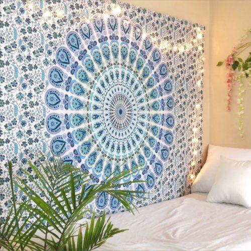 chambre boho mandala