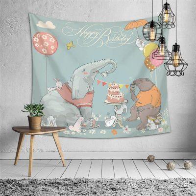 tenture murale chambre pour bebe