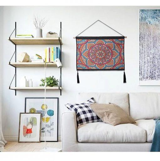 tapisserie mandala boheme