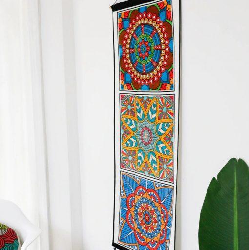tapisserie murale mandala