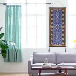 tapisserie murale style batik