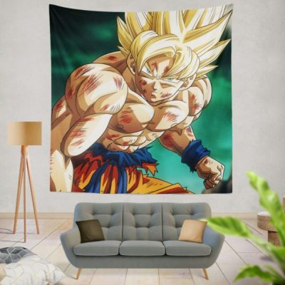 tenture murale chambre ado dragonball