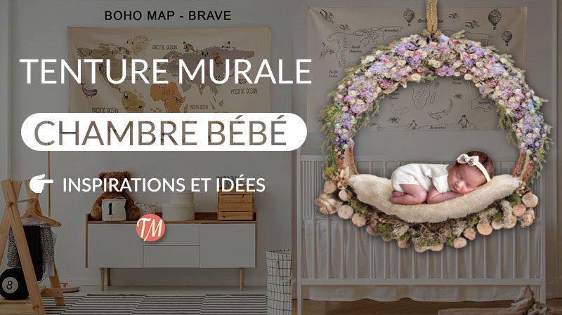 tenture murale chambre bebe