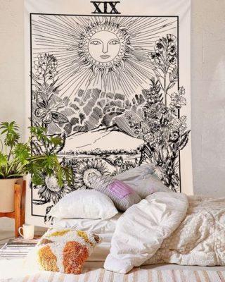 tenture murale tarot